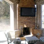 outdoor fireplace 1 150x150 - Outdoor Living & Patios