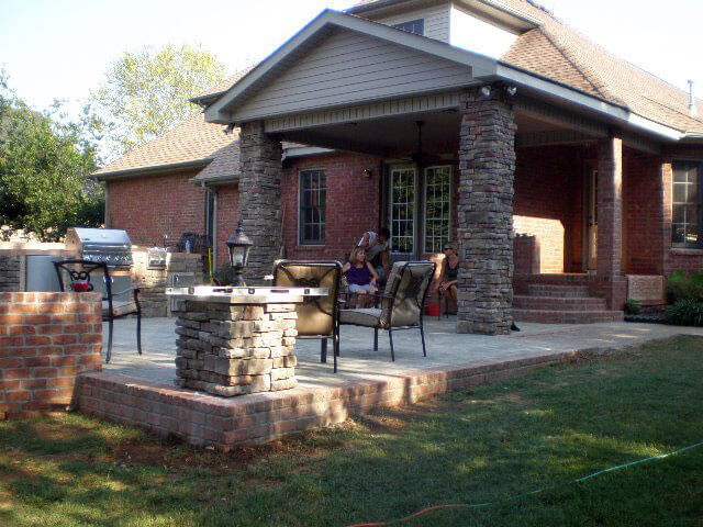 outdoor living patios morris brothers construction