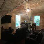 red roof log cabin 03 150x150 - Custom Log Cabin Home