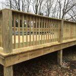 wooden pool deck 04 150x150 - Custom Pool Deck