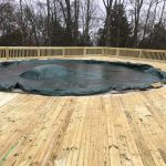 wooden pool deck 05 150x150 - Custom Pool Deck